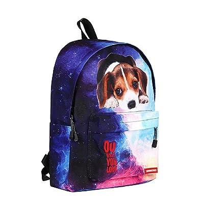 Animal Printed Kids School Backpack Casual Small Bookbag for Boys Girls Daypack