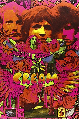 TST INNOPRINT CO Cream Rock Band Classic Rock Poster 36x24