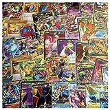 Pokemon Go Pokemon TCG : 100 CARD LOT RARE, COMMON, UNC, HOLO & GUARANTEED EX OR FULL ART