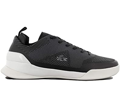 f733f3bbf2873 Lacoste Lt Dual Elite Trainers Black  Amazon.co.uk  Shoes   Bags