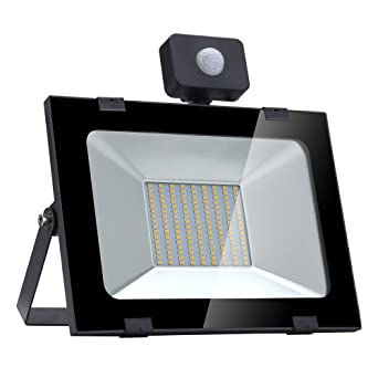 Per Lámparas LED para Techo y Pared Foco Proyector Exteriores LED de Sensor Movimiento Proyector Iluminación
