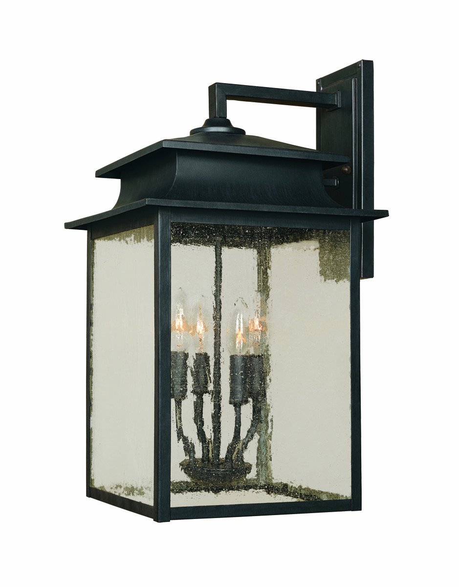 World Imports 9106-42 Sutton Collection 3-Light Outdoor Wall ...