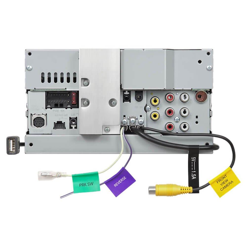 Kenwood Ddx774 Ddx774bh 2 Din Receiver W Wiring Harness Back Bluetooth And Hd Radio Car Electronics