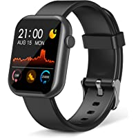 Smart Watch,Fitness Tracker with Heart Rate Monitor,IP67 Waterproof Fitness Watch with Pedometer,Smartwatch Compatible…