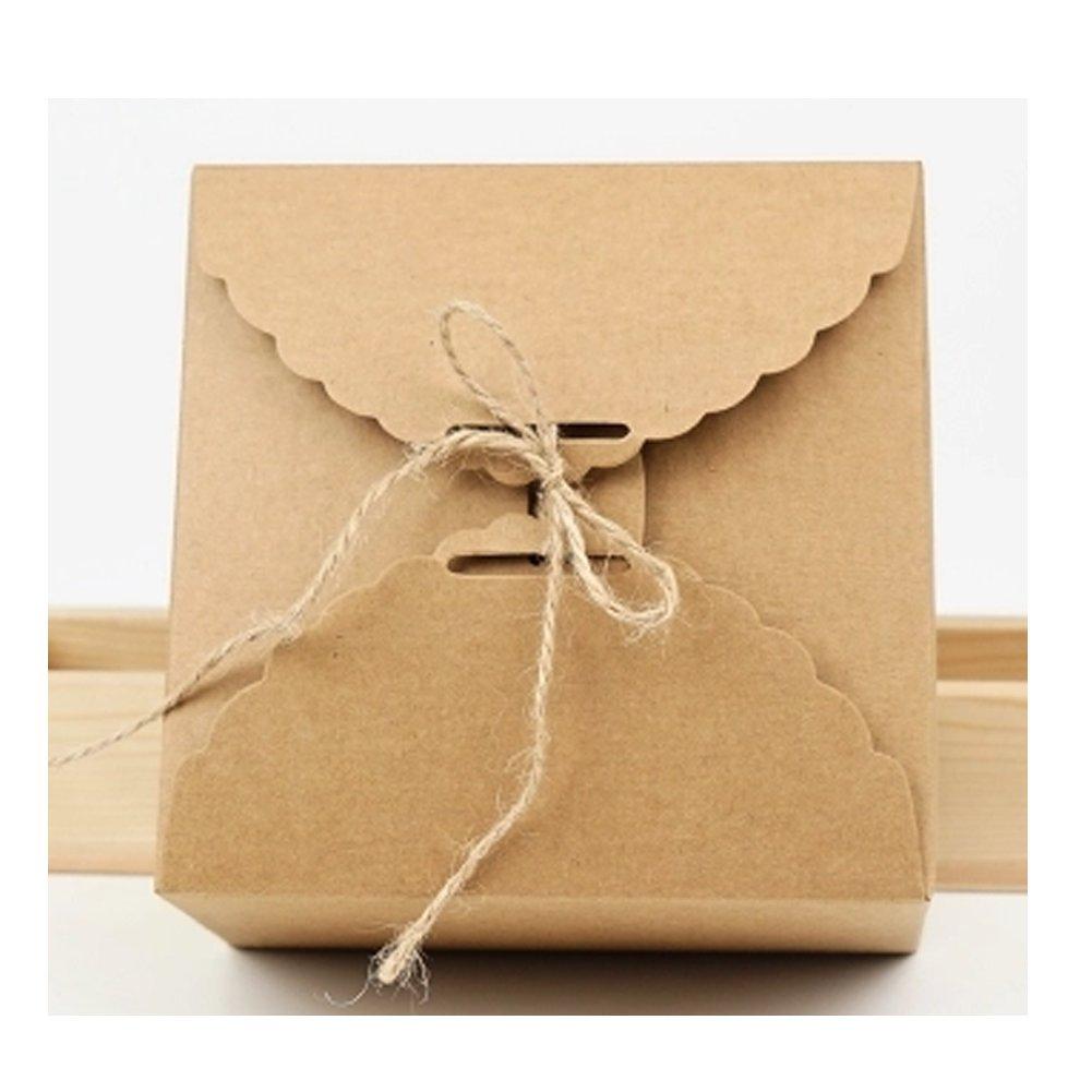 CAOLATOR Cajas de regalo perfecto para la presentacion de regalo para chocolates, tortas, galletas, alimentos: Amazon.es: Bricolaje y herramientas