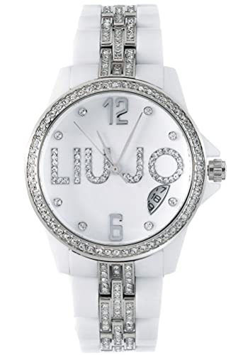 Liu Jo Watch Donna Luxury White Celebrity Tlj084 + Bag  Amazon.co.uk   Watches cd63981ce70