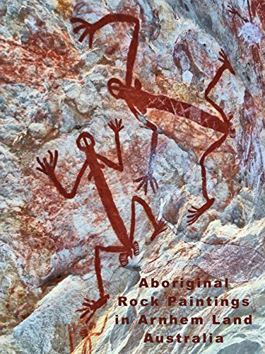 (Aboriginal Rock Paintings in Arnhem Land Australia)