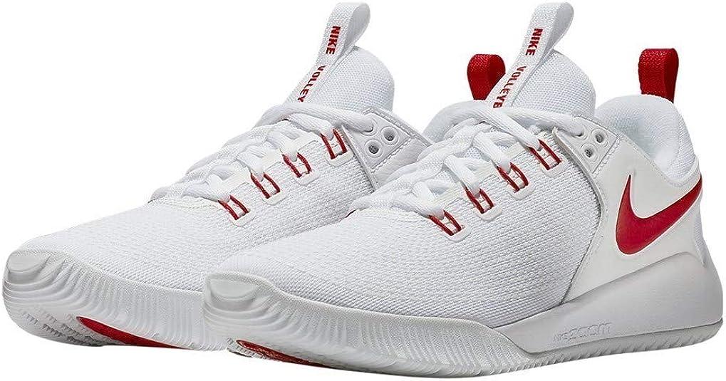 Escarpado Fácil de suceder disparar  Amazon.com | Nike Womens Zoom Hyperace 2 Trainers Lace Up Volleyball Shoes  | Road Running