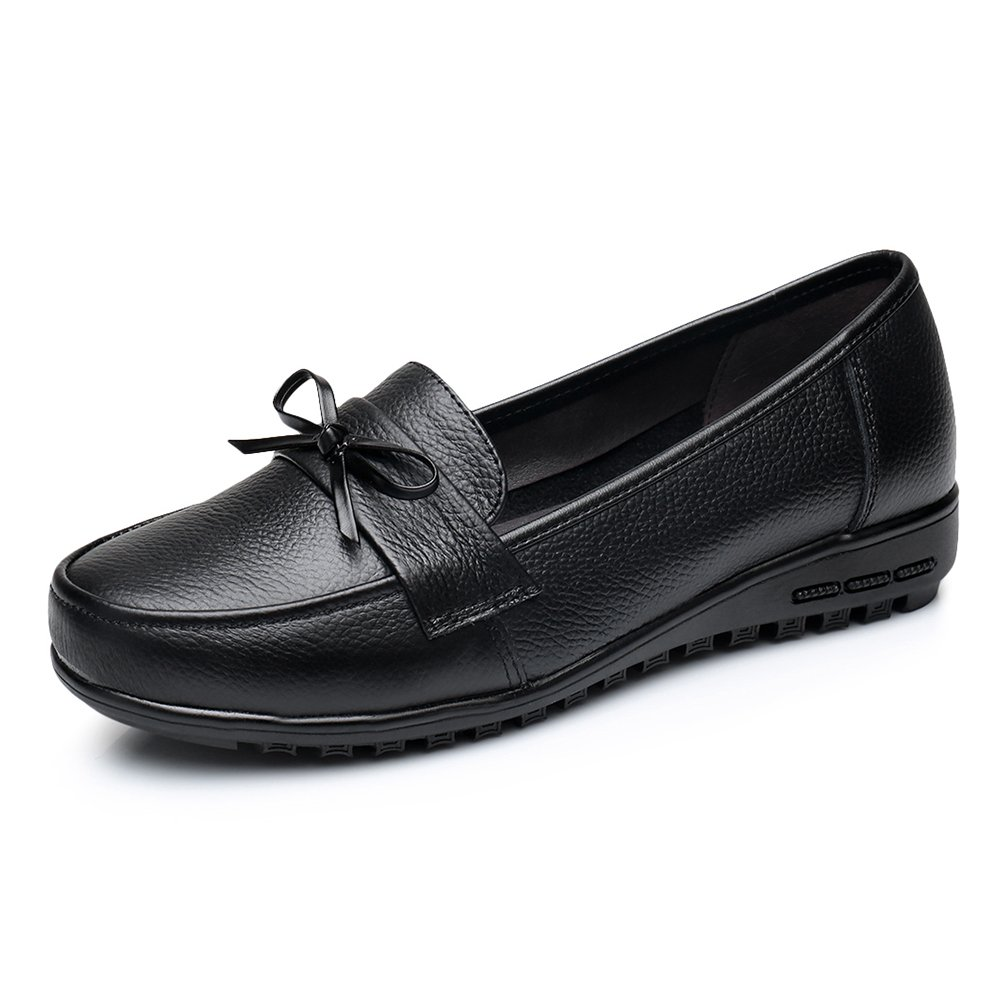 Comfity Slip-On Flat Womens Flats Driving Moccasins Loafers Shoes