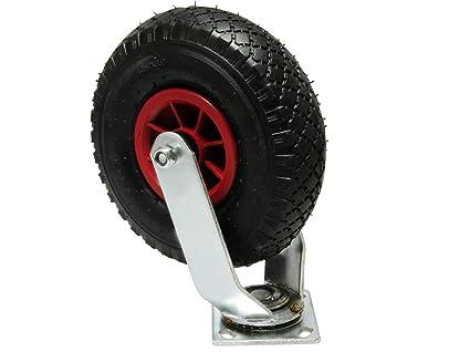 """Bockrolle Rad 260 x 85 mm 3.00-4/"""" Luftrad Gleitlager    Reifen mit Schlauch"""