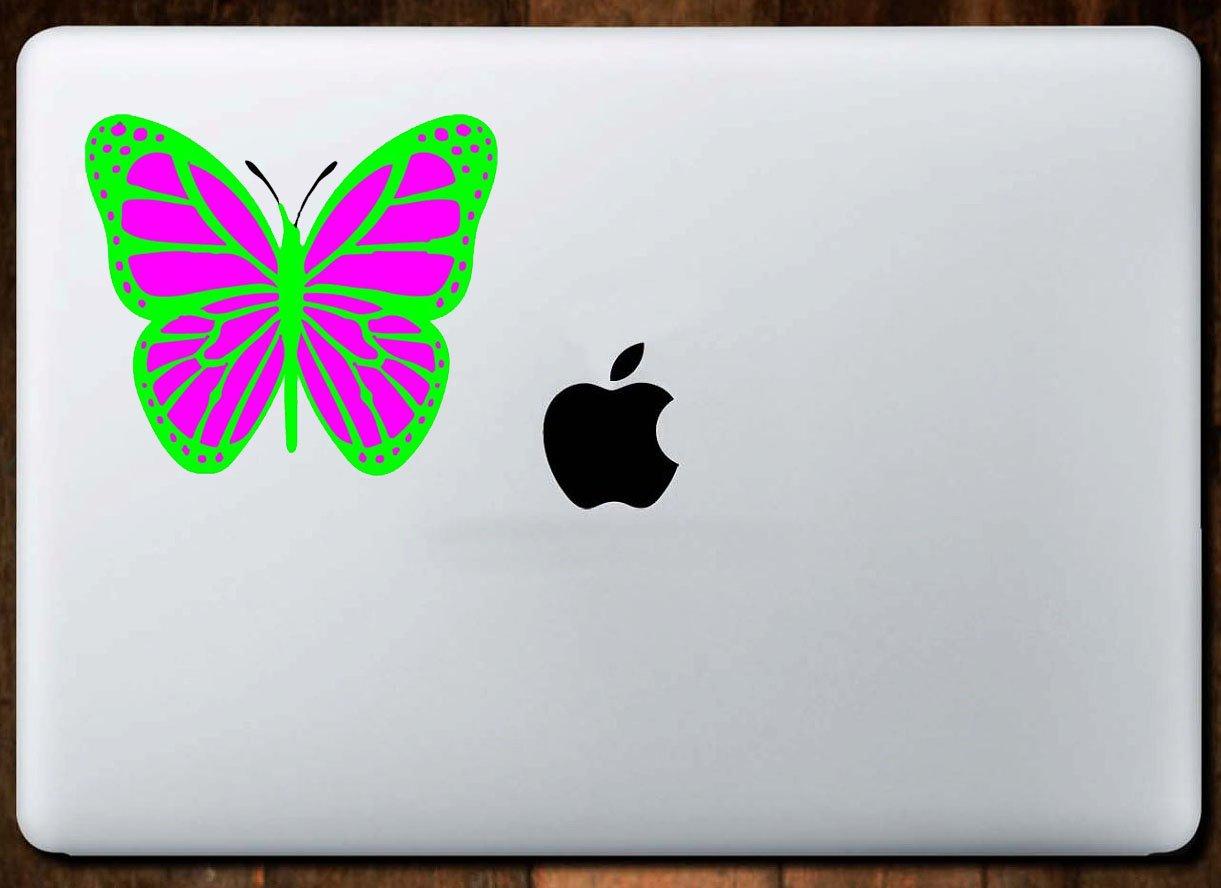 Cute Bumper Sticker Perfect Teacher Gift WickedGoodz Die Cut Green Butterfly Vinyl Decal