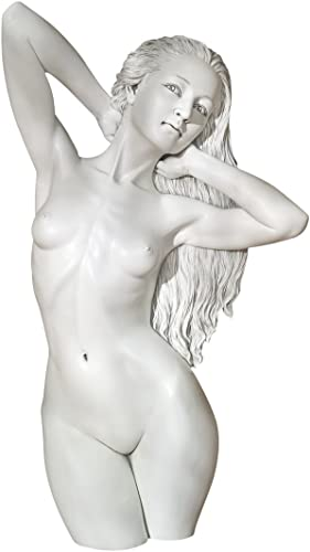 Design Toscano DB383092 Rachel's Way: Contemporary Venus Wall Sculpture,Antique Stone