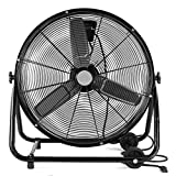 "Best Industrial Fans - XtremepowerUS 24"" Inch Heavy Duty Rolling Velocity Drum Review"