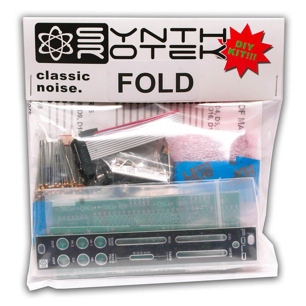 Synthrotek FOLD DIY Kit - Wavefolder/Ring Mod Eurorack Module
