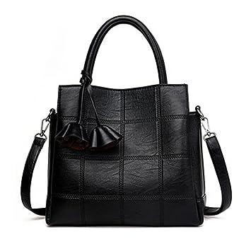 71314e4a3a Les femmes en cuir sacs à main Sacs à carreaux femmes grandes marques  Designer Rose Sac