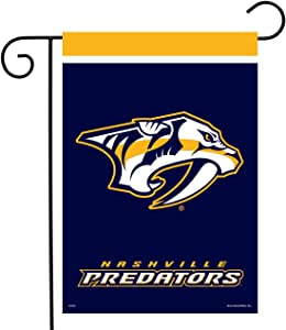 "Sparo Nashville Predators Garden Flag Hockey Licensed 12.5"" x 18"""