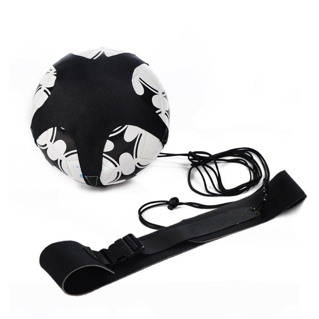 JUYUAN-EU Football Trainer Solo Kicking Football Practice Training Aid Control Skills Adjustable Waist Belt