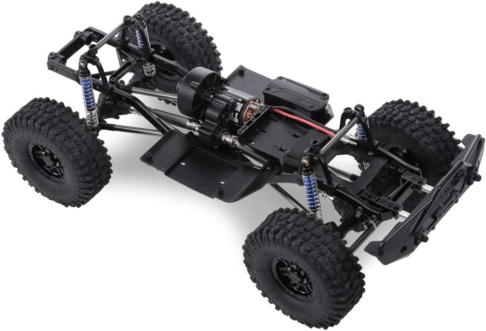 """313mm 12.3/"""" Metal Chassis Frame for Axial SCX10 II RC Car Model Upgrade Accs"""