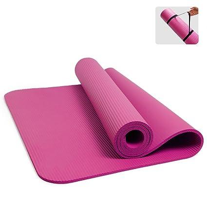 Amazon.com: YQSMYSW High Density Yoga mat Beginner Yoga Mat ...