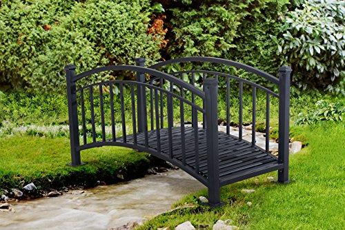 Amazon.com : Sunjoy Boulevard Living Arch Design Steel Garden Bridge :  Garden U0026 Outdoor