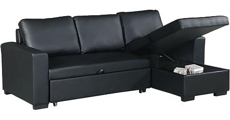 Black Poundex F6890 Bobkona Parker Sectional Set