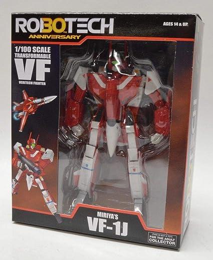 Macross Robotech Miriya VF-1J Veritech with Super Armor 1//100 Transformable