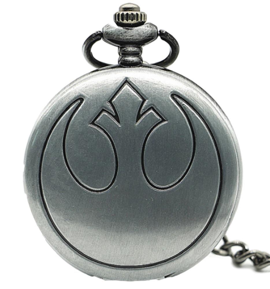 Star Wars Rebel Forces Silver Finish Pendant Pocket Watch