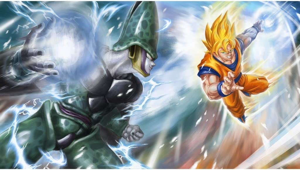 LYLZZ Puzzle, Dragon Ball Anime 300/500/1000/1500 Pieza De Campo De Juegos Puzzles Stickers Juguetes Hobby (Color : B, Size : 300PC)