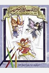 Amy Brown Faeries Coloring Book Paperback