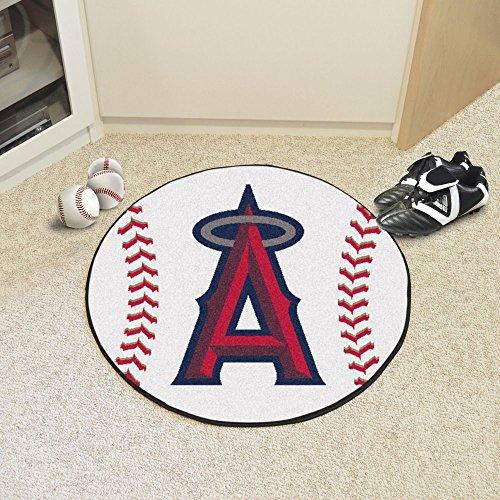 (Fanmats Baseball Floor Mat - Los Angeles Angels)