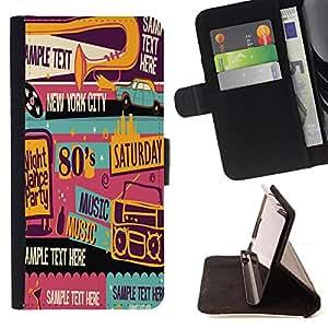 King Case - FOR Sony Xperia Z1 L39 - Love without end - Prima caja de la PU billetera de cuero con ranuras para tarjetas, efectivo Compartimiento desmontable y correa para la mu?eca