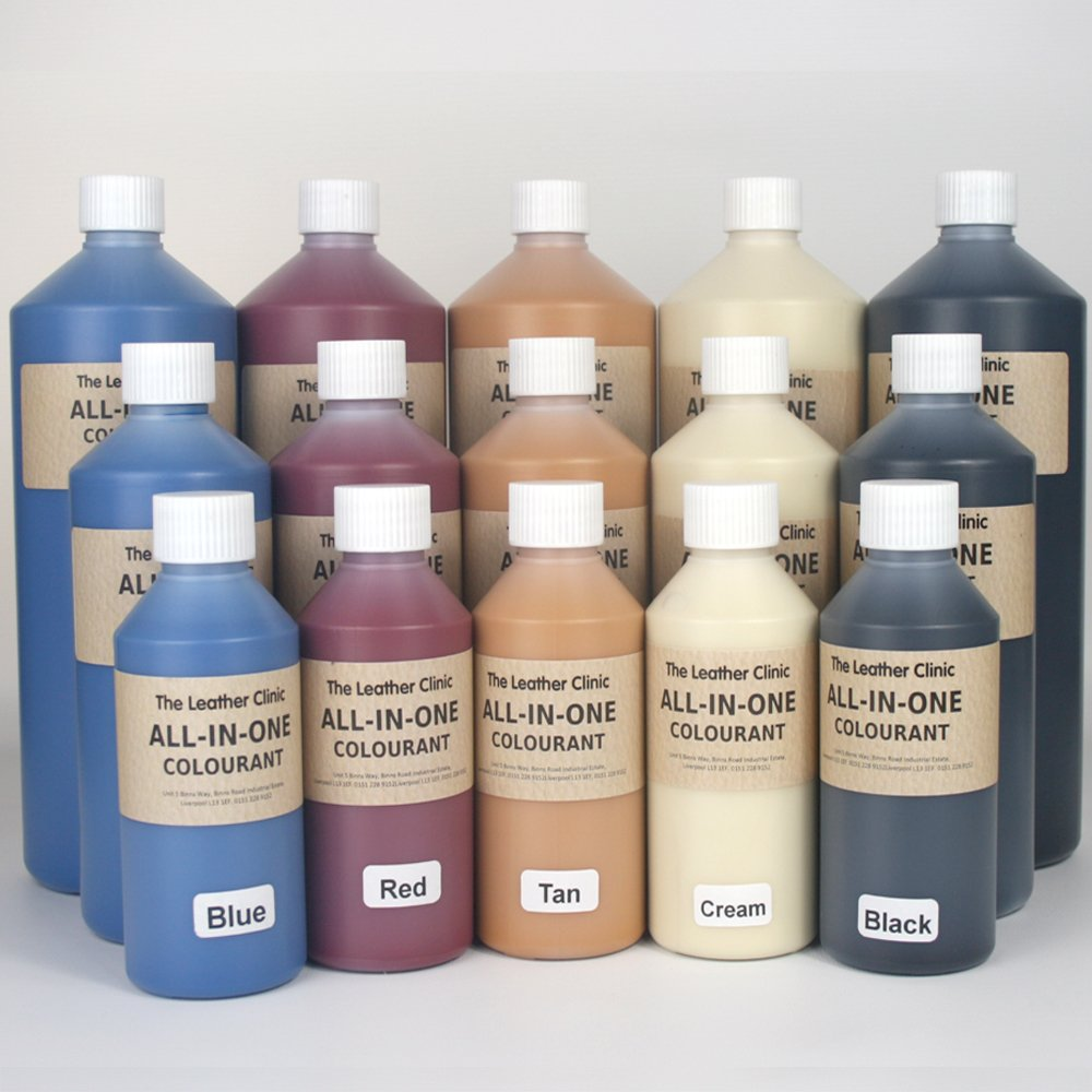 All In One Leather Colourant. / For Restoration & Re-Colouring (Beige, 125ml)