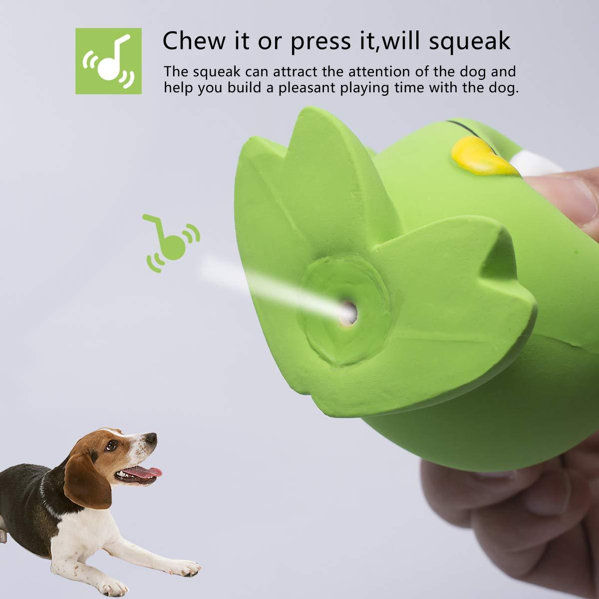 para perros adultos y cachorros Petper Cw-0063EU Juguete con sonido de l/átex para perros juguetes para animales interactivos
