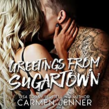 Greetings from Sugartown Audiobook by Carmen Jenner Narrated by Jenny Walters, Rupert Hamilton