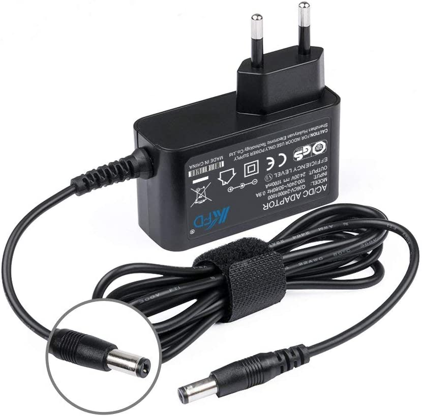 KFD Cargador 24V 1A 800mA 500mA 5,5 2,1mm AC DC Adapter Adaptador de Corriente para Tira de LED CCTV Switch LED Strip Power Supply Fuente de alimentación Transformator 24 Volt