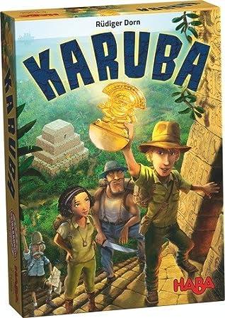 Haba Karuba Juego De Mesa 301895 Amazon Es Juguetes Y Juegos