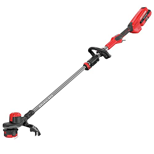 Craftman V60 Cordless 15-in. Brushlessa Weedwacker String Trimmer with Quickwing Kit 2.5AH
