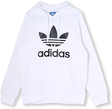 sweat blanc homme adidas