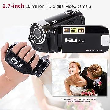 Weardear Handheld 1600 Million 16X 1080P Recording Digital Video Camera Camcorders