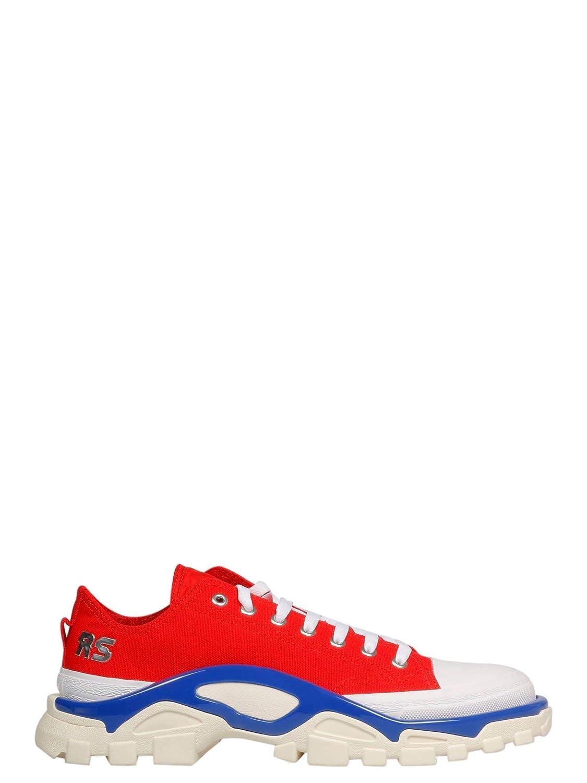 - RAF SIMONS Adidas by Herren Ee7936 Rot Stoff Turnschuhe