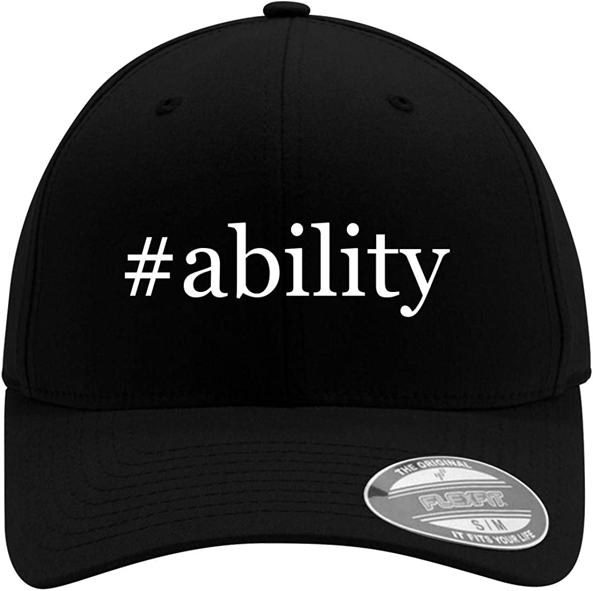 #ability - Adult Men's Hashtag Flexfit Baseball Hat Cap 61aISU5yyoL