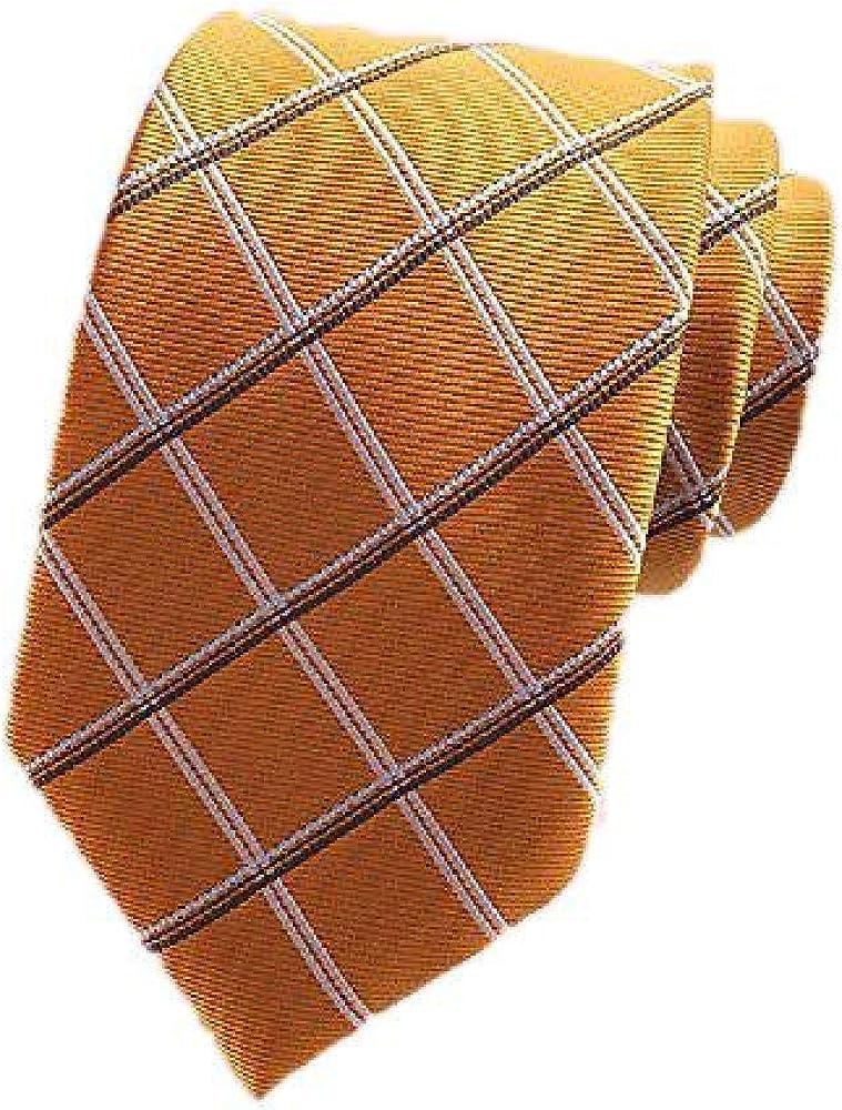 NOBRAND 2020 Camisa A Cuadros De Alta Densidad Corbata Traje De Hombre Corbata Regalo Del DíA Del Padre