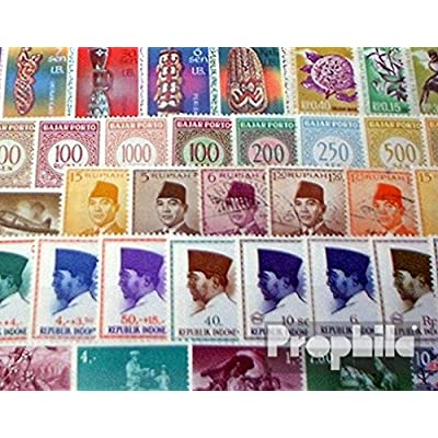 Indonesia 100 Different Stamps (Stamps for Collectors): Toys & Games