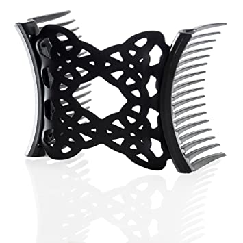 Black lingerie hair clips picture 135