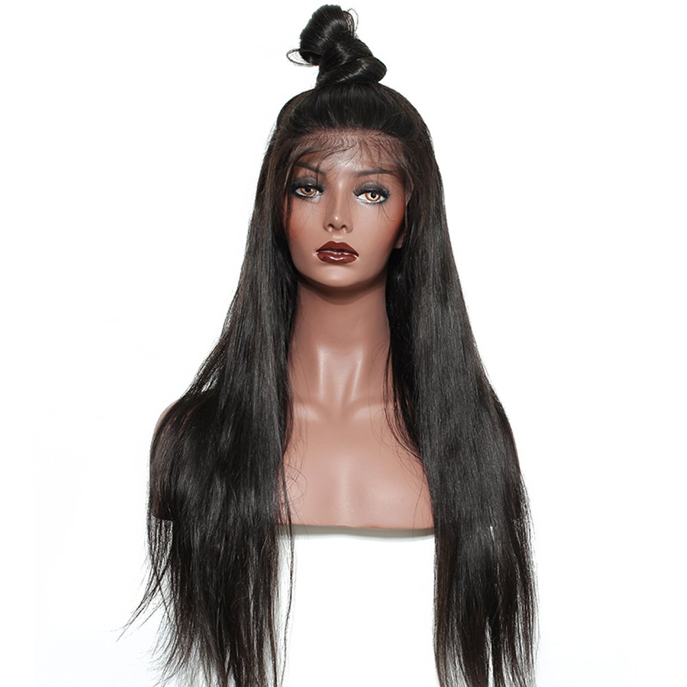 Rechoo 20 inch 13x6 Deep Part Human Hair Lace Front Wig 150% Density Baby Hair Brazilian Straight Remy Hair Wigs