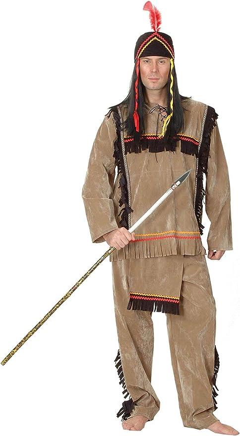 el carnaval Disfraz Indio Gran Jefe: Amazon.es: Hogar