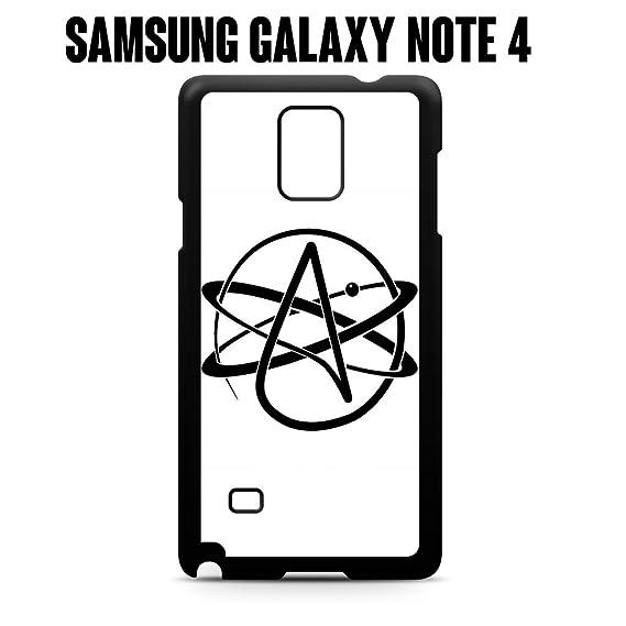 Amazon Phone Case Atheist Symbol For Samsung Galaxy Note 4