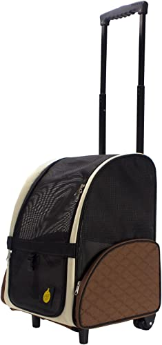 FrontPet Airline Approved Rolling Pet Travel Carrier