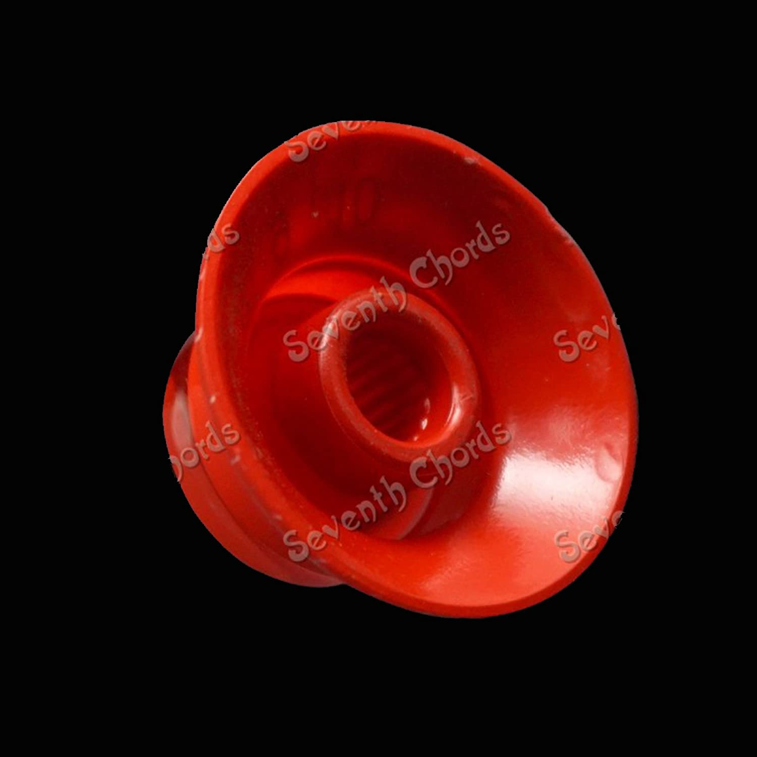 Gold 4 Pcs Flying Saucer Style Multicolor Choose Acrylic Volume Tone Speed Control Knobs Turn Buttons for Gibson LP Les Paul SG Electric Guitar