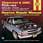 Chevrolet and GMC Pick-Ups (1988-2000)…